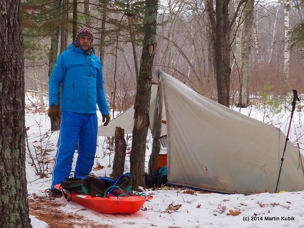 Banning Snowcamping January 17 2015