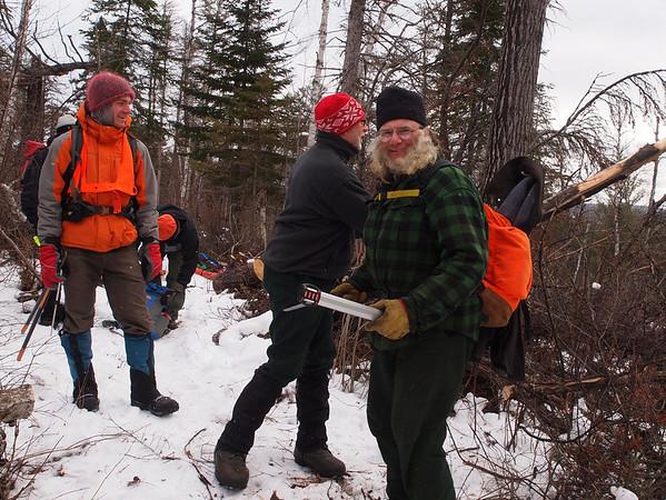 KEK 2012 Dec Trail Clearing
