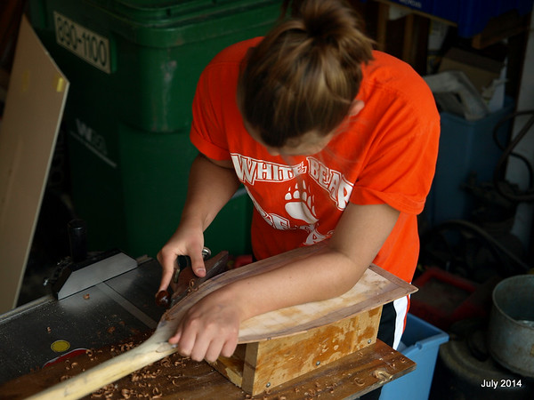 Refurbishing a paddle