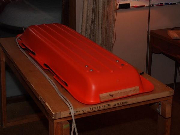 Snowcamping:  BCT-6 Sled Brake and Rope Preventer